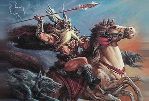 Odin dios nordico